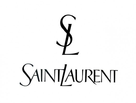 New Saint Laurent Logo