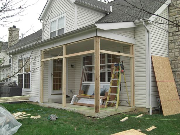 39 best images about front porch ideas on pinterest for How to enclose a screened in porch