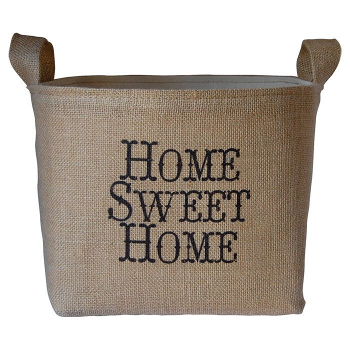 Home Sweet Home Storage Bin