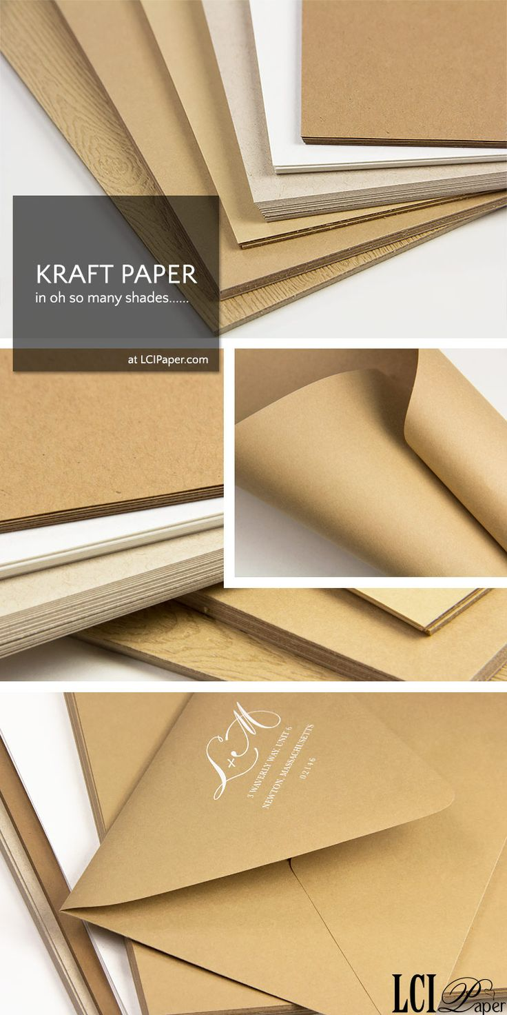 39 best Chic Kraft Paper images on Pinterest | Brown paper, Kraft ...