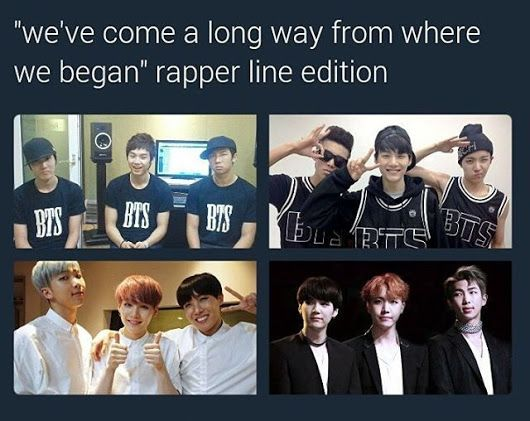 I like how suga of all people is smiling in the first two! Too cute!!