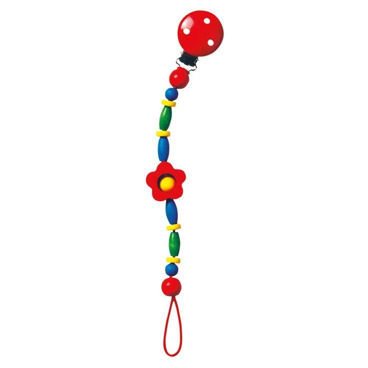 Mertens Klip na dudlík - kytka #vánoce #dárek #narozeniny #svátek #nejmenší #oslava #děti #hračky #rodina #3dmámablog.cz