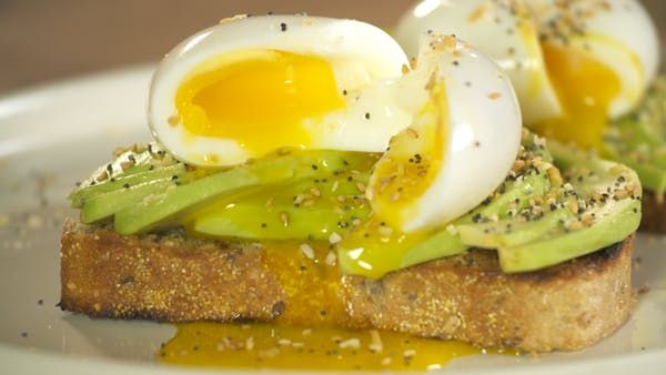 Avocado Toast w/6 Minute Egg