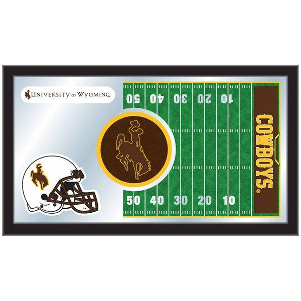 "Wyoming Cowboys 15"" x 26"" Football Mirror - $64.99"