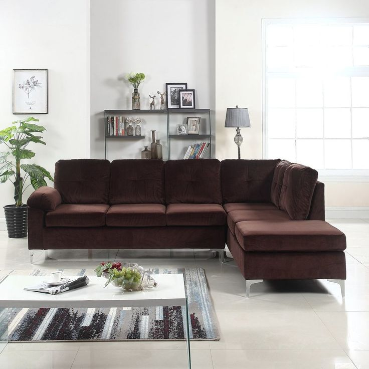 Modern Microfiber Sectional Sofa: Best 10+ L Couch Ideas On Pinterest