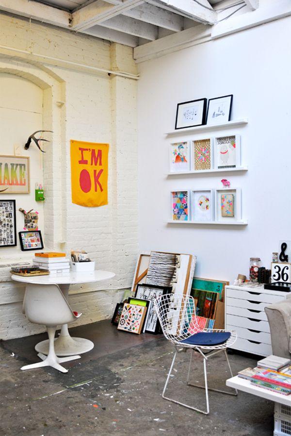 517 besten studio bilder auf pinterest ateliers for Haus innendekoration