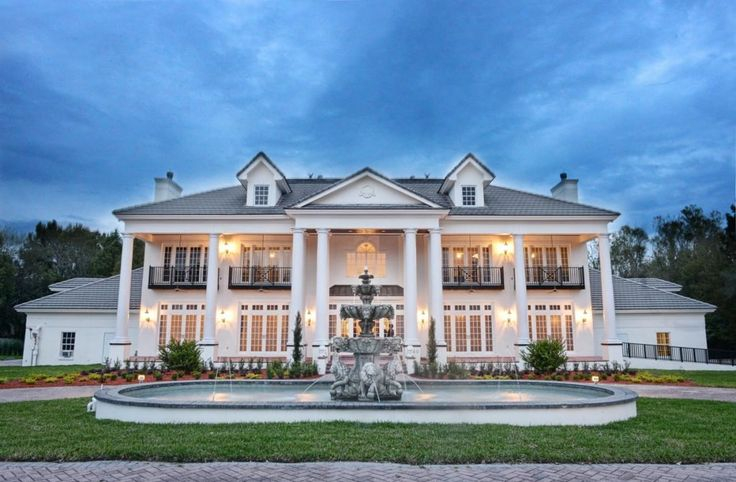 The Luxmore Grande Estate wedding venue located in Orlando, Florida.