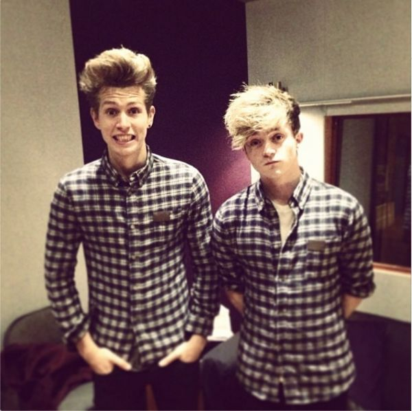 They once wore the same shirt to work... I'm not complaining though they look stunning