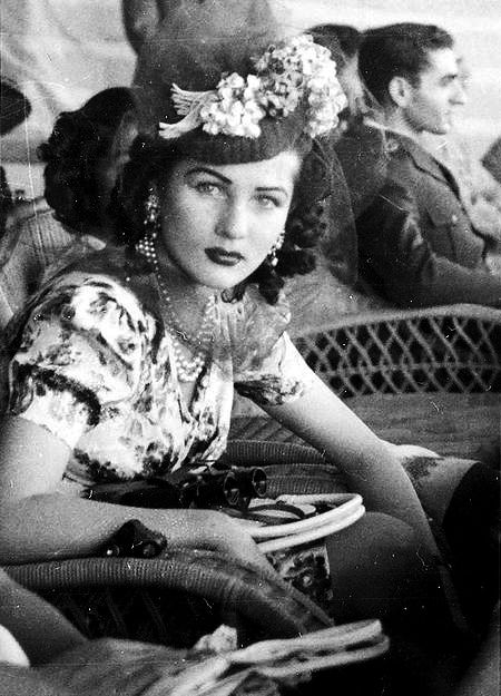 Princess Fawzia Fouad of Egypt and Iran  Empress of Iran for a short time. She was unable to bear children - therefor divorced.