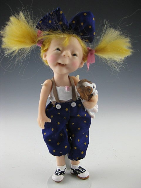 Elizabeth Cooper Studio - Artist Dolls, Santas, Fairies, Angels and Dolls