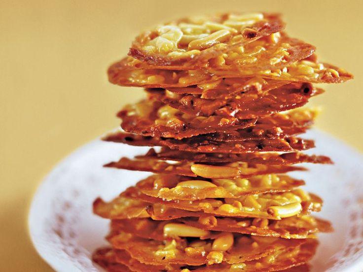 Weihnachtskekse: Rezepte mit Honig Honig-Florentiner mit Mandeln