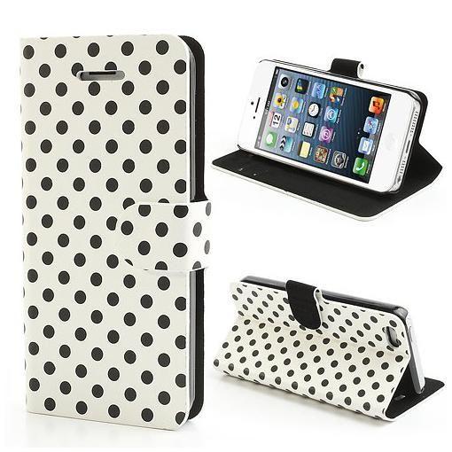 FoneBitz - iPhone 6 Polka dot wallet case