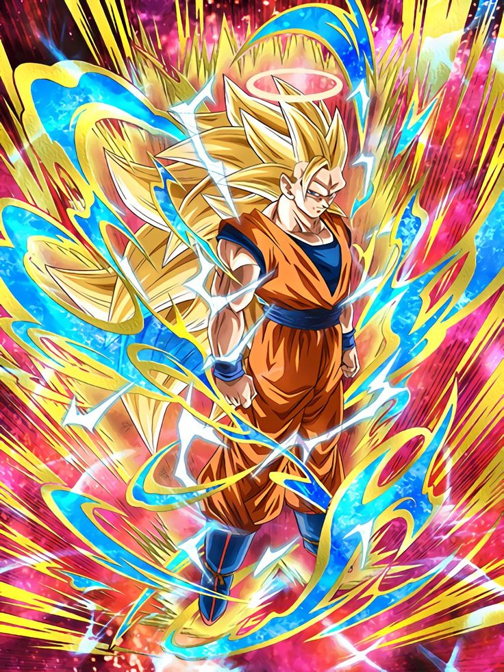 [Astounding Transformation] Super Saiyan 3 Angel Goku/Dragon Ball Z: Dokkan Battle