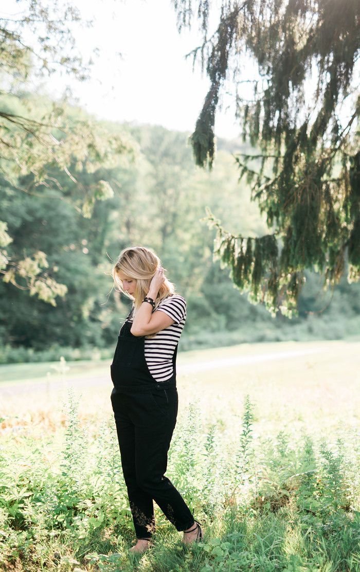 Maternity Style // Overalls at 30 weeks // Lynzy & Co.