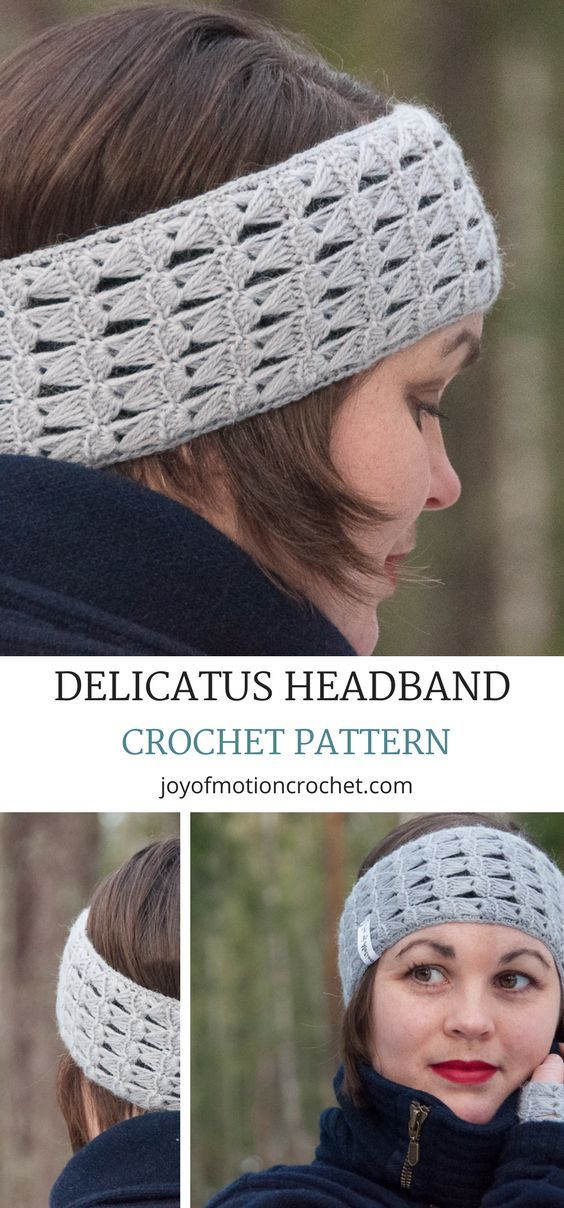 Delicatus Headband A Easy Crochet Pattern Design Crochet Hats