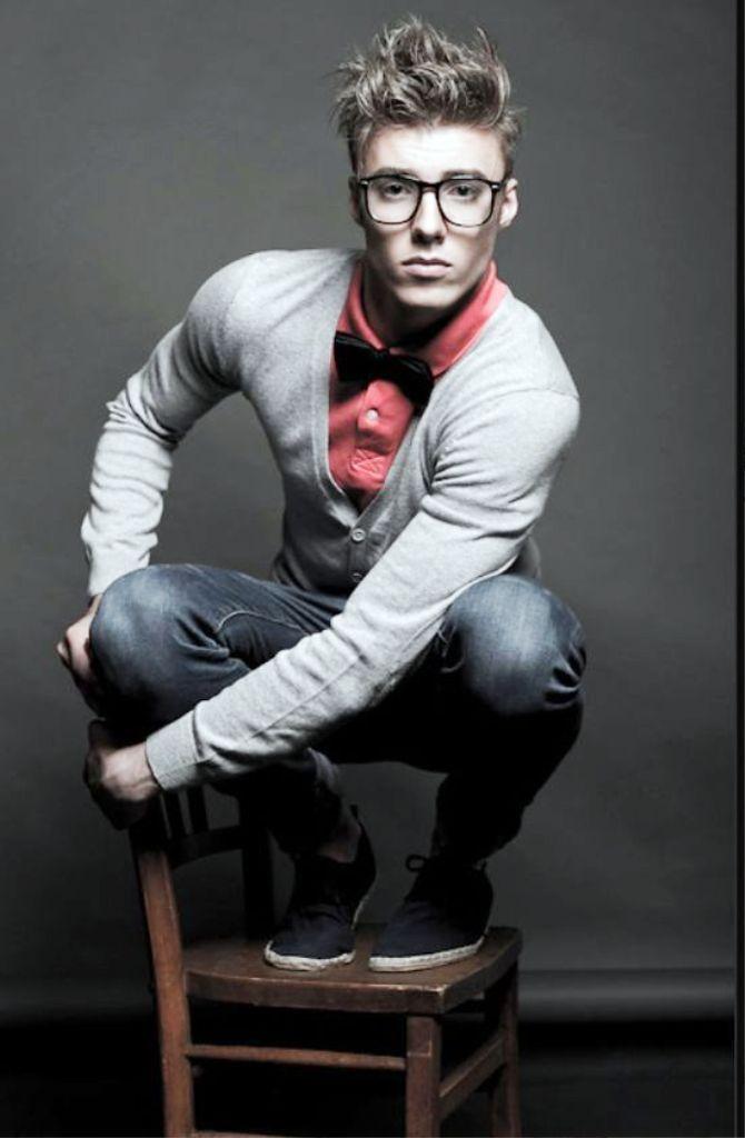 Young Preppy Men Fashion