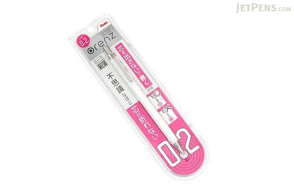 Pentel Mechanical Pencil XPP502-A Black Orenz 0.2mm