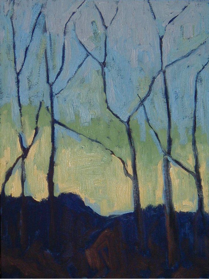 The Athenaeum - Trees (Paul Serusier - )