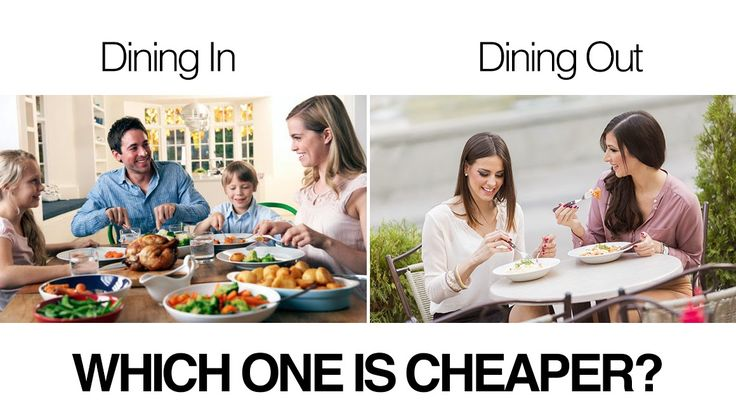 Eating Out Or Eating Home