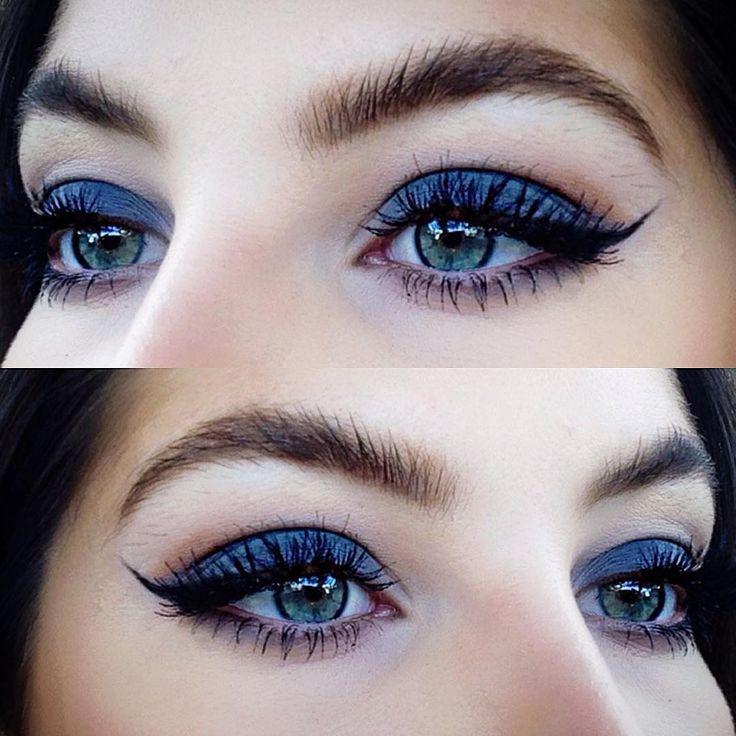 awesome 50 Идей, как сделать макияж смоки айс для голубых глаз — Пошаговые фото Читай больше http://avrorra.com/makijazh-smoki-ajs-dlja-golubyh-glaz-foto-poshagovo/