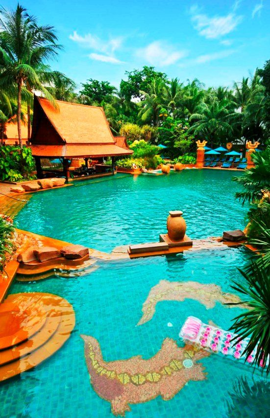 Tropical Oasis in the Heart of Action, at Pattaya Marriott Resort & Spa. Thailand