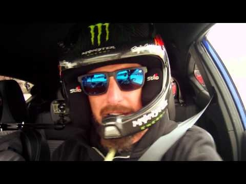 Кен Блок щурмува писта в Будапеща с Ford Fiesta ST