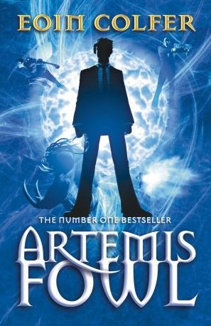 """Artemis Fowl"", by Eoin Colfer - Twelve-year-old villain, Artemis Fowl, is the most ingenious criminal mastermind in history. His bold and daring plan is to hold a leprechaun to ransom. But he's taking on more than he bargained for when he kidnaps Captain Holly Short of the LEPrecon (Lower Elements Police Reconnaissance Unit)."