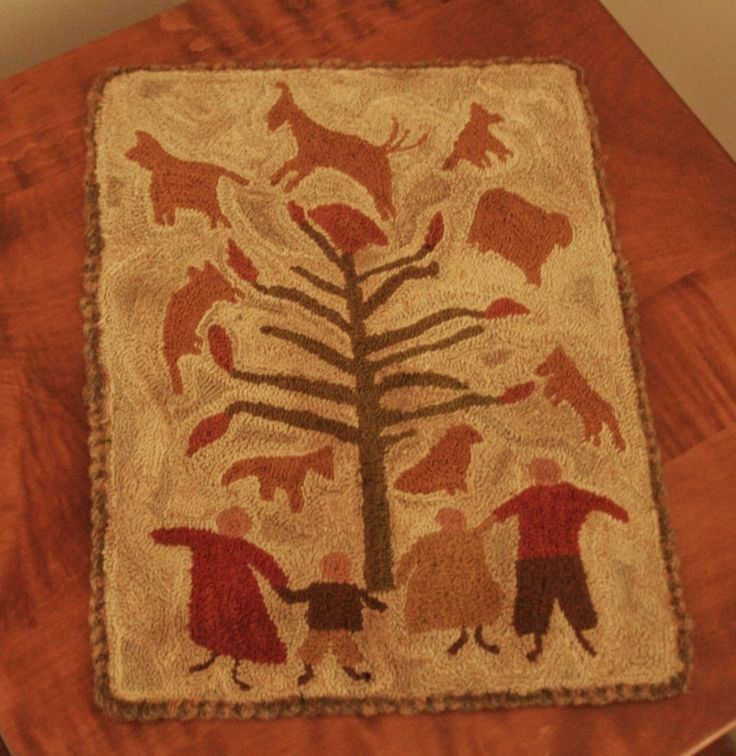 2914 Best Hooked Rugs Images On Pinterest