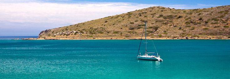 The turquoise sea in Crete! #TrueGreece #Crete #Sea