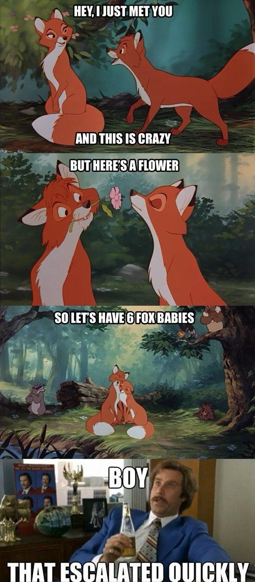 7156dae2fdf6234e4d8d05cfa07f9bd7 fox baby sad movies 149 best disney memes images on pinterest disney stuff, disney,Disney Memes Clean