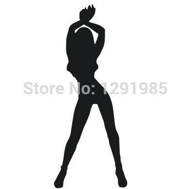 Городской моды красивый соблазнительной секс сделать любовь девушки сексуальные ноги женщины леди главная стикеры стены декора наклейки фрески искусство Винил