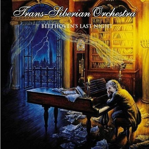 Trans Siberian Orchestra - Beethoven's Last Night    Classical and rock music just had a love child. It is this record. ;)