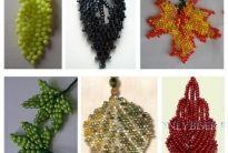 Beaded Leaves - Schemas (Translate) ~ Seed Bead Tutorials
