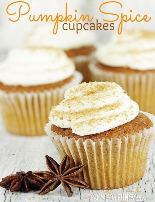 Pumpkin Spice Cupcakes. | Cupcakes.....Includes Holidays | Pint ...
