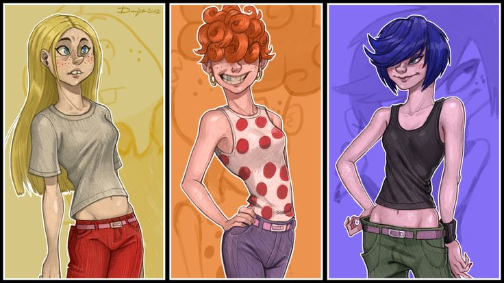 ed edd n eddy fan art kanker sisters - Google Search