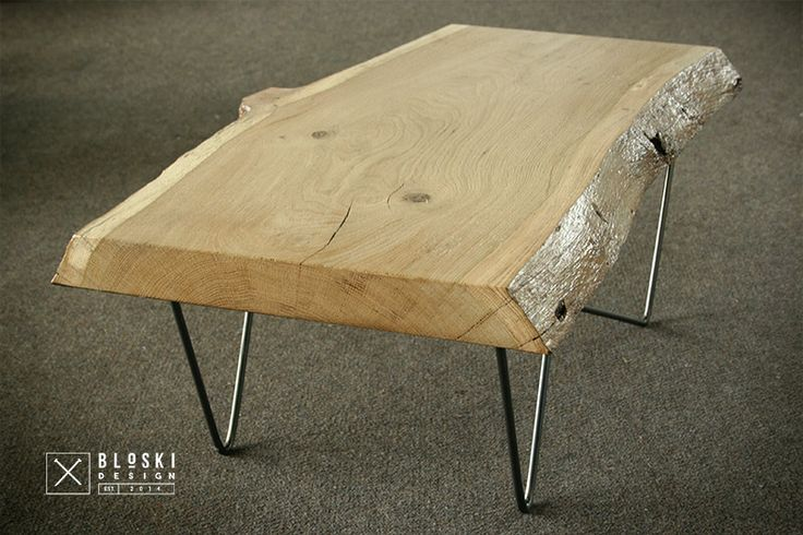 if you like wood, steel and...coffee  Bloski design