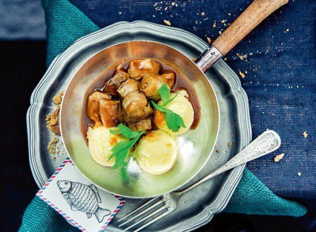 Karp w sosie piwno-piernikowym