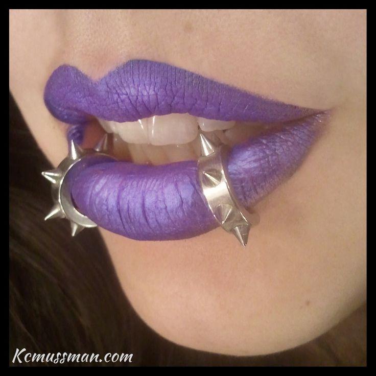 Punkish Purple I by ~KCMussman on deviantART