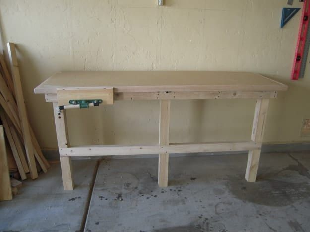 DIY Folding Workbench | Garage Organization Ideas You Must Do This Season