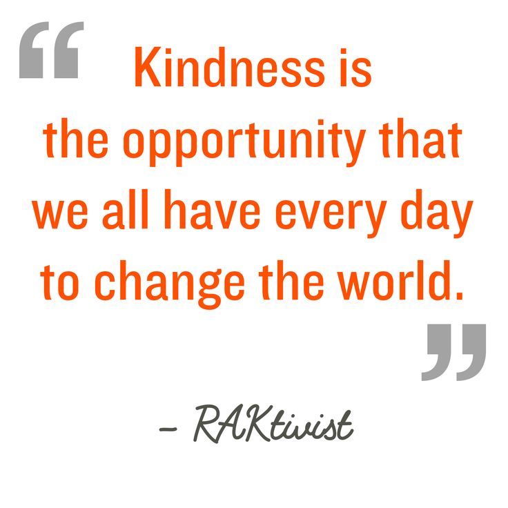 Inspirational Quotes For Kindness Day: 12 Best Random Acts Of Kindness Week Images On Pinterest