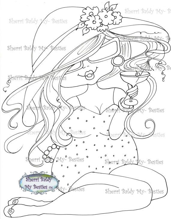 228 best Big Head Girl Coloring Pages images on Pinterest