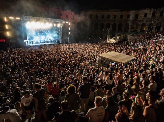Massive Attack – Dimensions Festival, Pula Croatia August 2016
