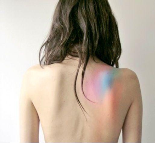 sutble watercolor tattoos - Google Search