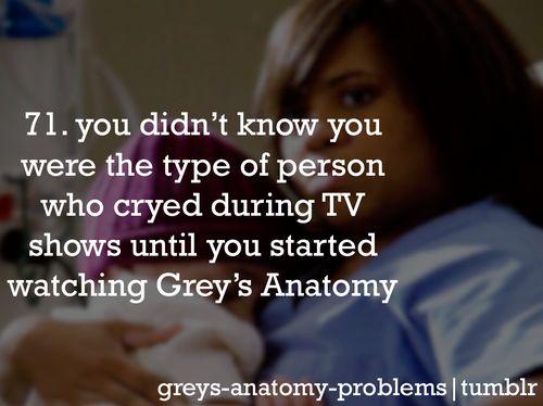 Grey's Anatomy Problems @Valerie Avlo Elder @Erica Cerulo Staats