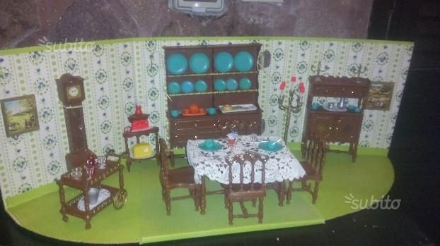 serie PRINCIPESSA - mobili per mini bambole -1969