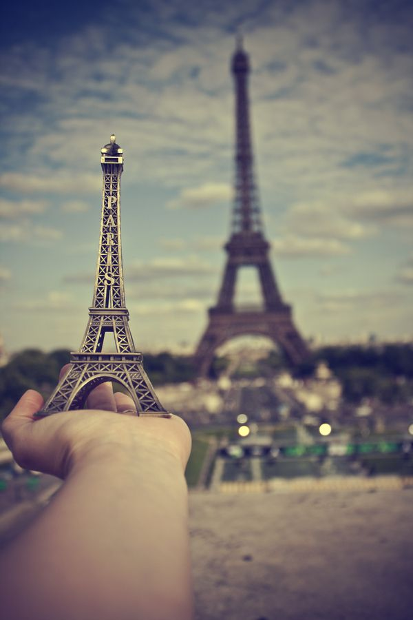 France has its tower, and I have mine!  by Vanessa Hernández Carvajal, via 500px