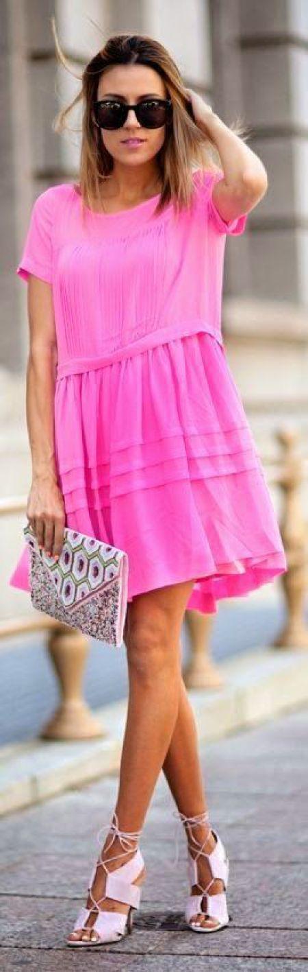 #fuşya #pembe #tulum #elbise #stil #tarz #moda #şort #yazlık #plaj #günlük