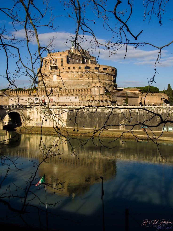 Il #Castello #Riflesso - #Castel #Sant'Angelo - #Portfolio #Architecture #Foto #Fotografia #Architettura