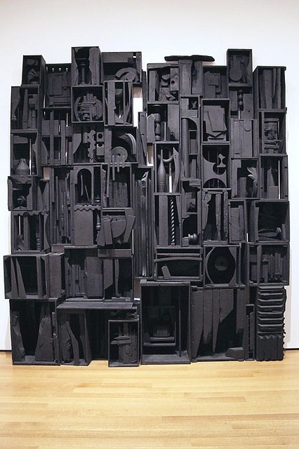 Sky Cathedral | Louise Nevelson, MoMA. *am i alone in thinking her work can come off like a badass counterpoint to joseph cornell? - RL