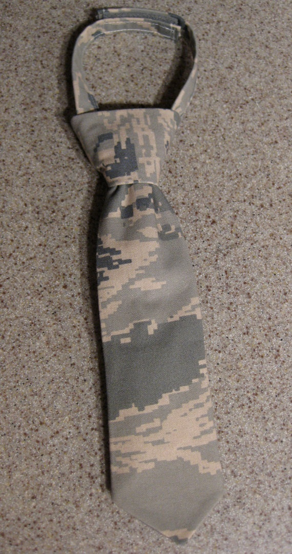 Baby Boy Camouflage Neck Tie by KaseyCreations on Etsy, $12.00